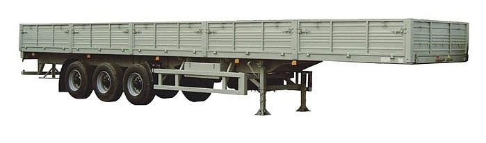 Бортовые полуприцепы МАЗ-975800-2012