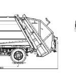 Мусоровозы МАЗ-4905W1-040 с задней загрузкой габариты