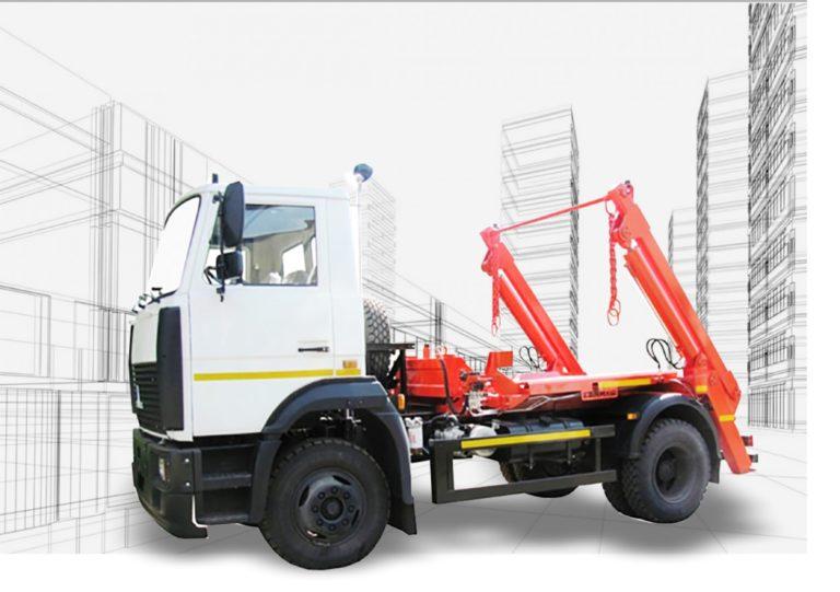 Мусоровозы МАЗ-4906P2-320 контейнерный