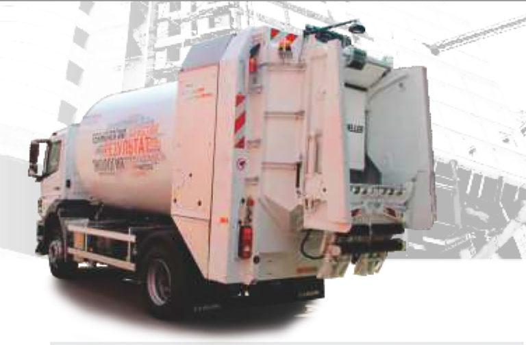 Мусоровозы МАЗ-5903B2-F10 с задней загрузкой