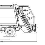 Мусоровозы МАЗ-5907B2-310 с задней загрузкой габариты
